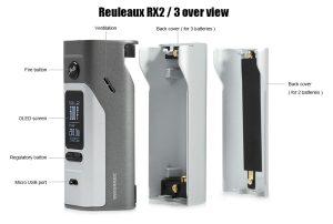 WISMEC Reuleaux RX2/3 TC