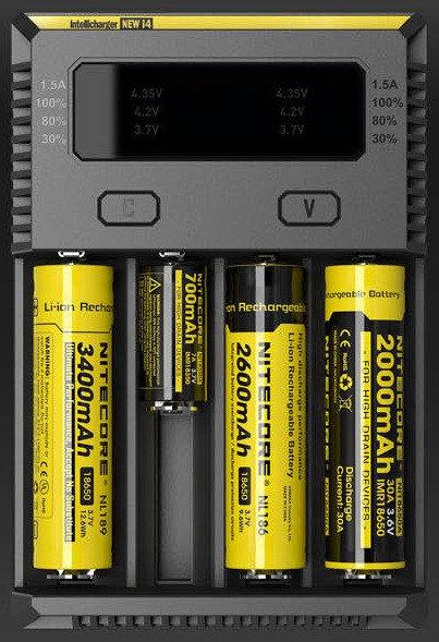 Nitecore i4 New intelligent charger
