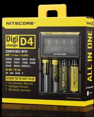 Зарядное устройство Nitecore D4