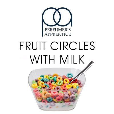 TPA Fruit Circles Wth Milk 10 мл