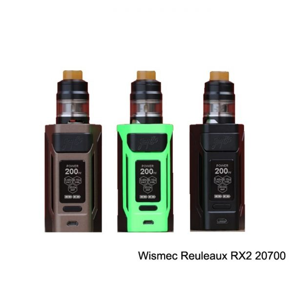 WISMEC RX2 20700 with Gnome