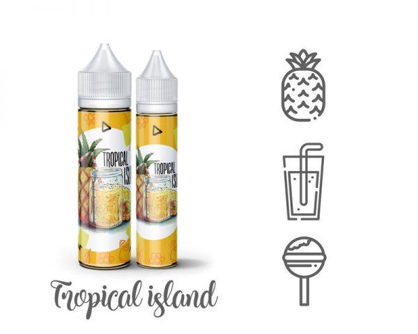 Monster Flavor Tropical Island