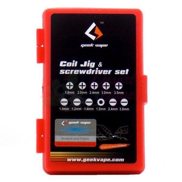GeekVape Coil Jig & Screwdriver set