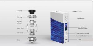 GeekVape Nova 200W Cerberus kit