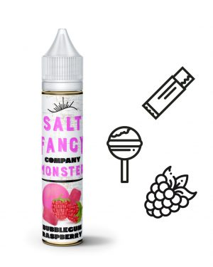 Fancy Monster Salt Bubblegum Raspberry