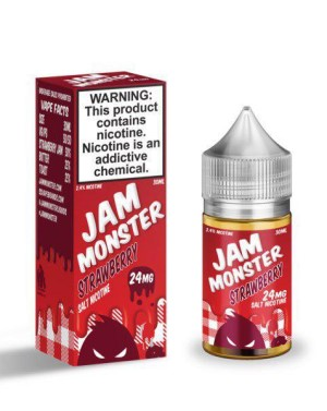 Jam Monster Salt Strawberry