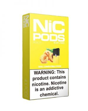 Nic Pods Cartridge Peach