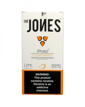 Jones Pods Clear Mango