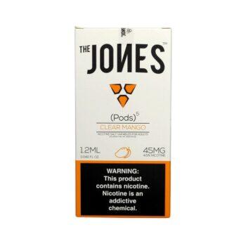 Jones Pods Clear Mango