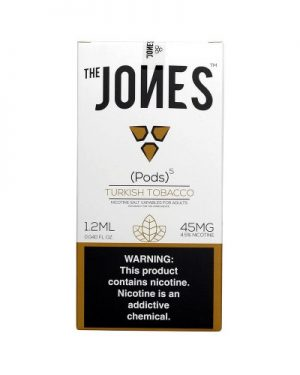Jones Pods Turkish Tobacco