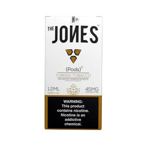 Jones Pods Turkish Tobacco