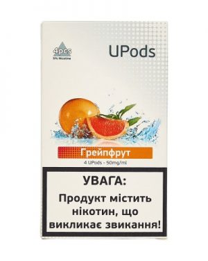 Upods Cartridge Грейпфрут