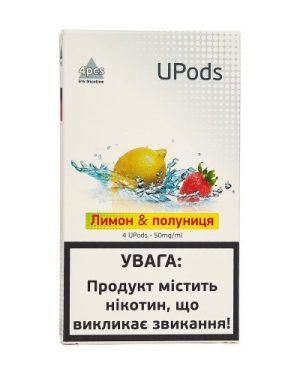 Upods Cartridge Лимон Клубника