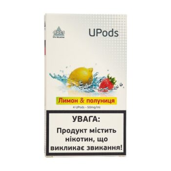 Upods Cartridge Лимон Клубника