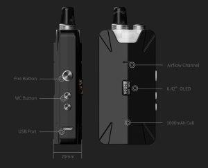 THC Tauren X Pod Mesh Coil kit