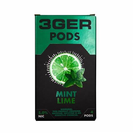 3Ger Pods Cartridge Mint Lime