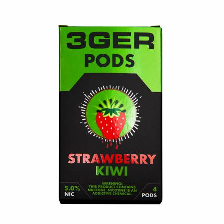 3Ger Pods Cartridge Strawberry Kiwi