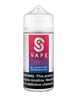 USA Vape Lab Blueberry Pomegranate