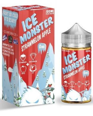 Jam Monster Strawmelon Apple Ice