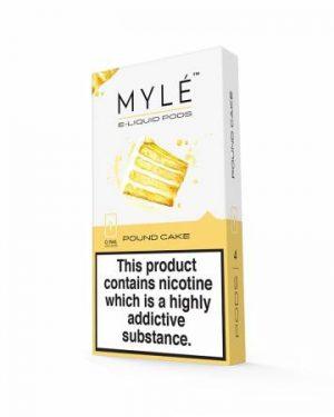 MYLE Pods Cartridge Pound Cake