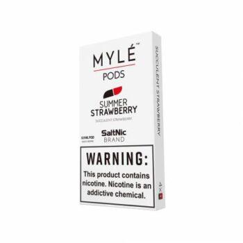 MYLE Pods Cartridge Summer Strawberry