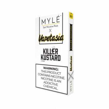 MYLE Pods Cartridge Vapetasia Killer Kustard