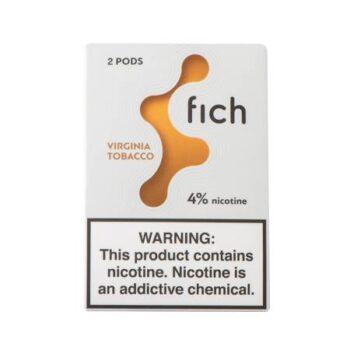 Fich Pods Cartridge Virginia Tobacco