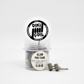 Alien for tank Ni80 0.19 Ом