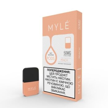 MYLE Pods Cartridge Peach