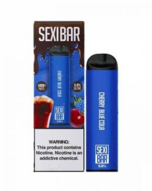 Sexibar Disposable Pod Device Cherry Blue Cola